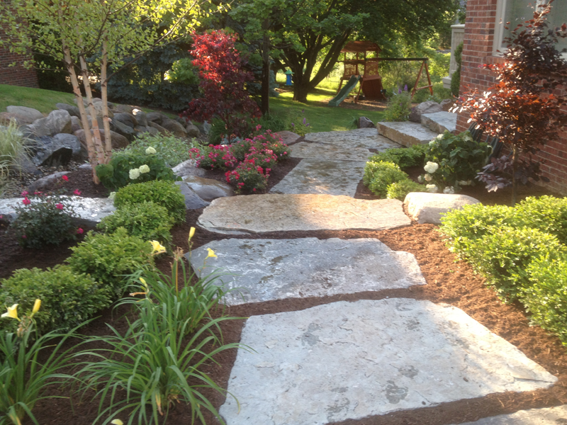 Landscaping ideas sherwood forest garden center for Landscaping the backyard ideas
